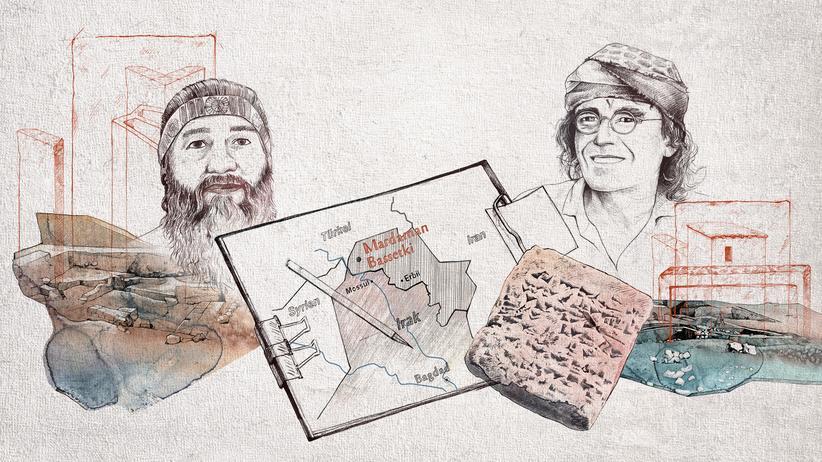 Archäologie: Ein Hügel, 5.000 Jahre Menschheitsgeschichte