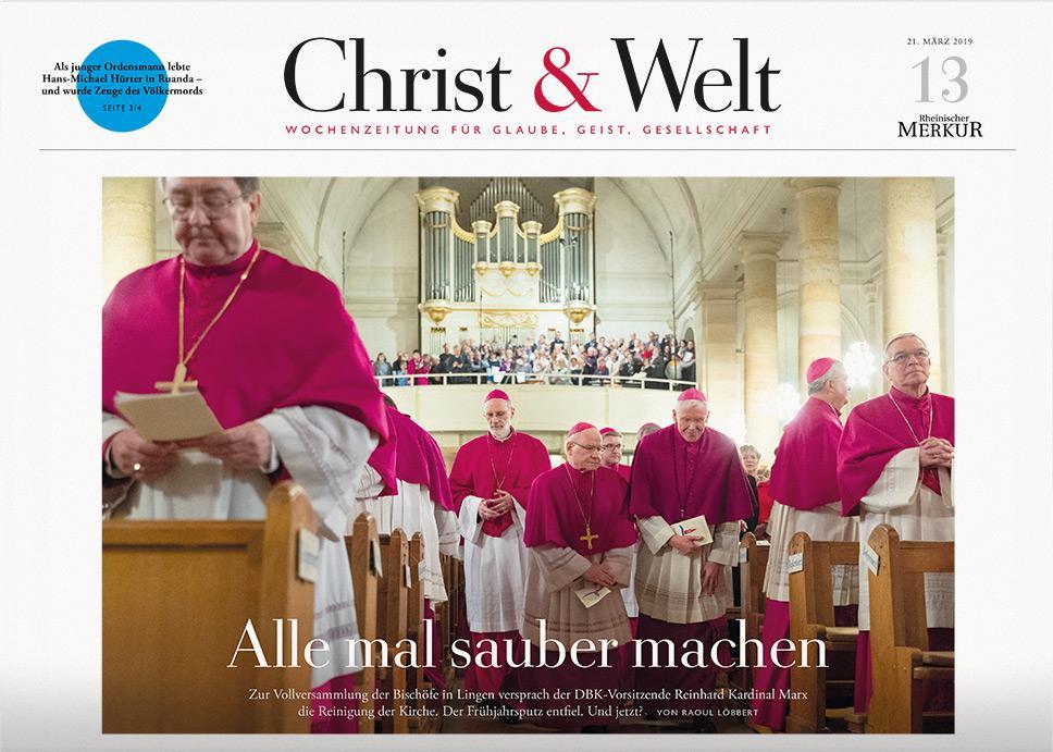Christ&Welt 13/2019