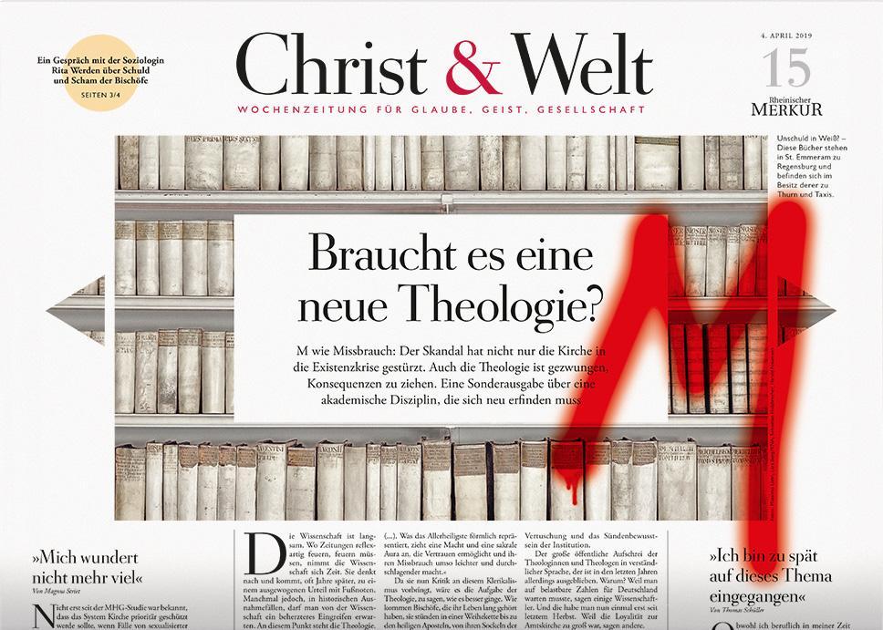 Christ&Welt 15/2019
