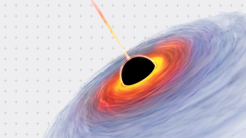 Schwarze Löcher: Wie macht man ein Bild von etwas Unsichtbarem?