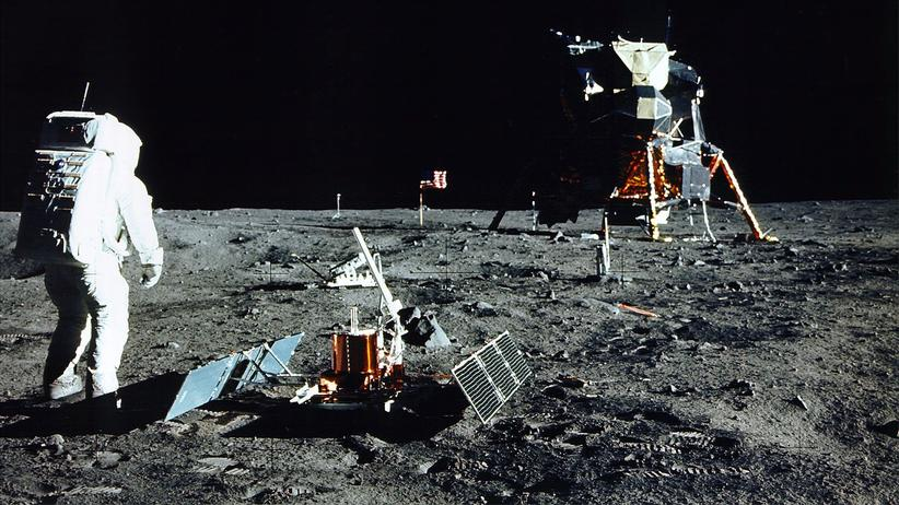 Mond: Auf der Suche nach dem Schrott