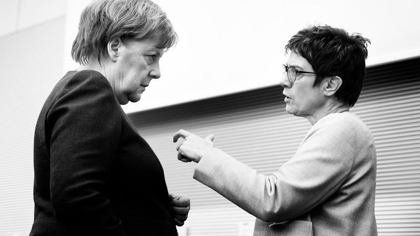 Annegret Kramp-Karrenbauer: Alles wartet auf den großen Bruch