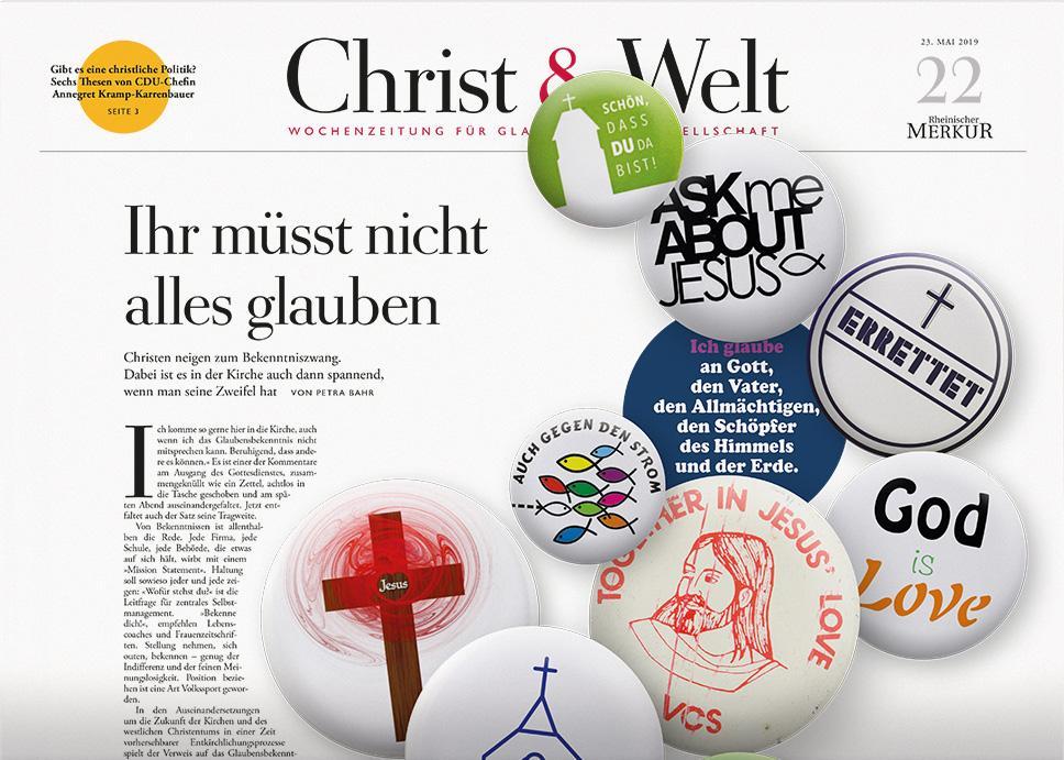 Christ&Welt 22/2019