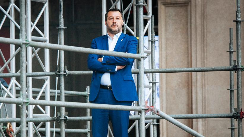 """Leoluca Orlando und Heinrich Bedford-Strohm: """"Matteo Salvini führt einen Rachefeldzug"""""""