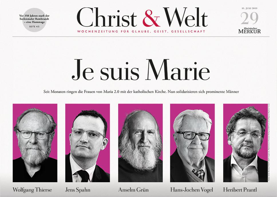 Christ&Welt 29/2019
