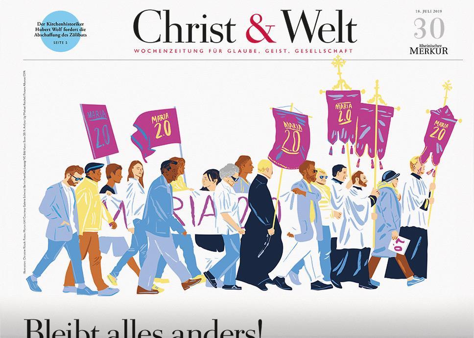 Christ&Welt 30/2019