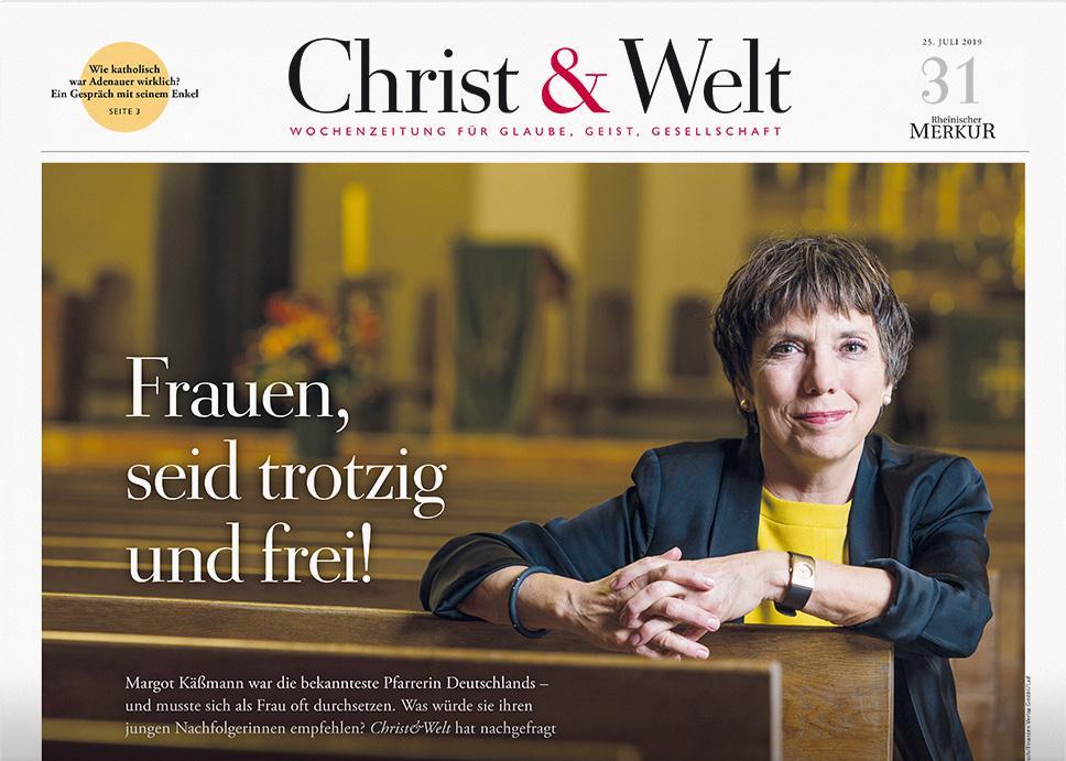 Christ&Welt 31/2019