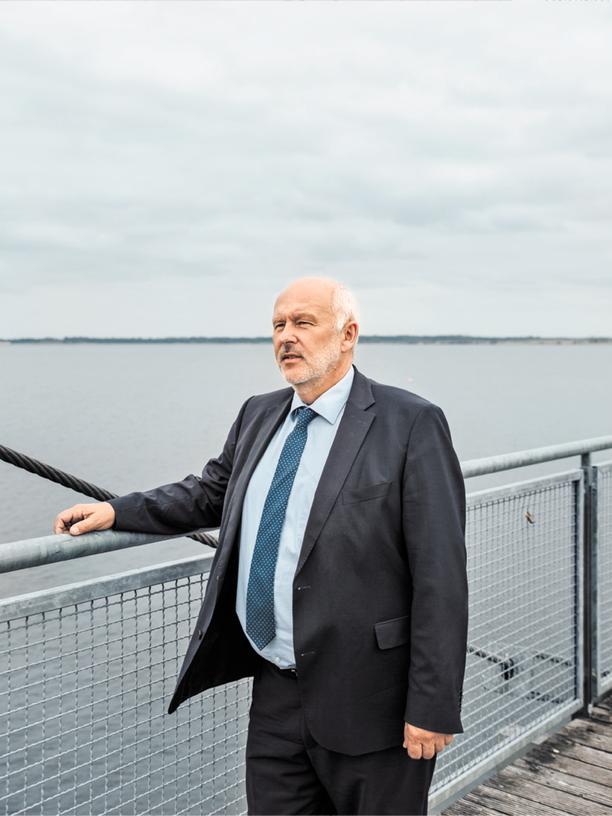 Großräschens Bürgermeister Thomas Zenker