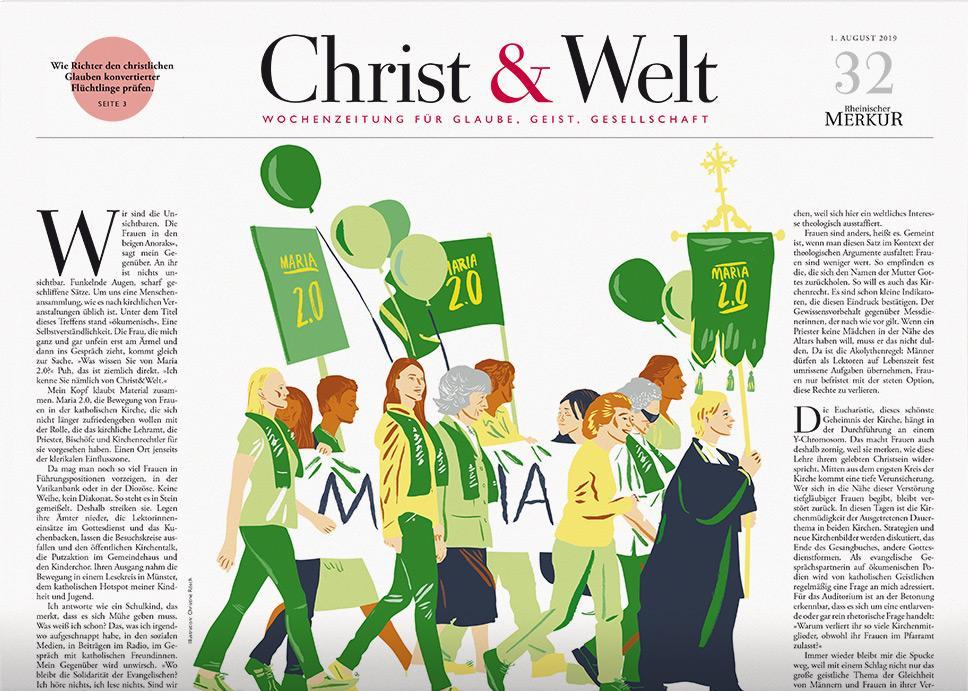Christ&Welt 32/2019