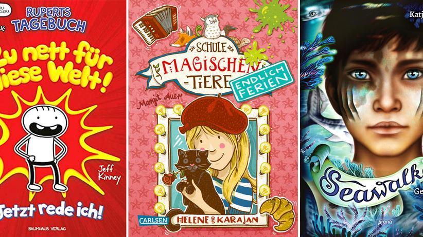 Kinderbücher: Die ZEIT LEO-Bestsellerliste August