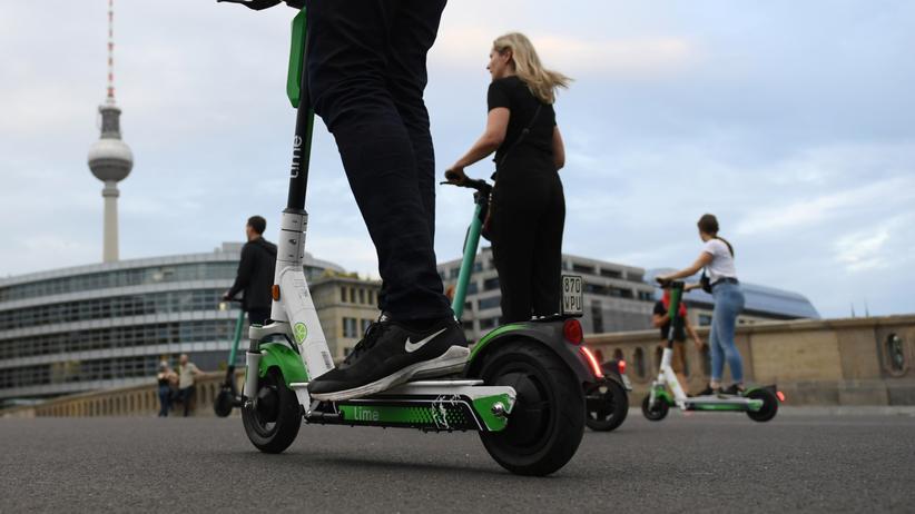 E-Scooter: Seit Juni können E-Tretroller in Deutschland ausgeliehen werden – wie hier in Berlin.