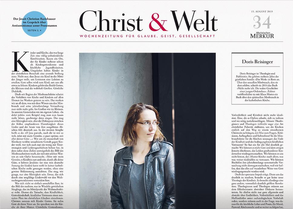 Christ&Welt 34/2019