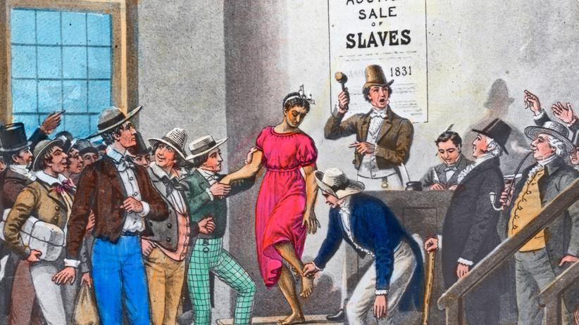 Sklaverei: Besonders teuer sind junge Afrikanerinnen