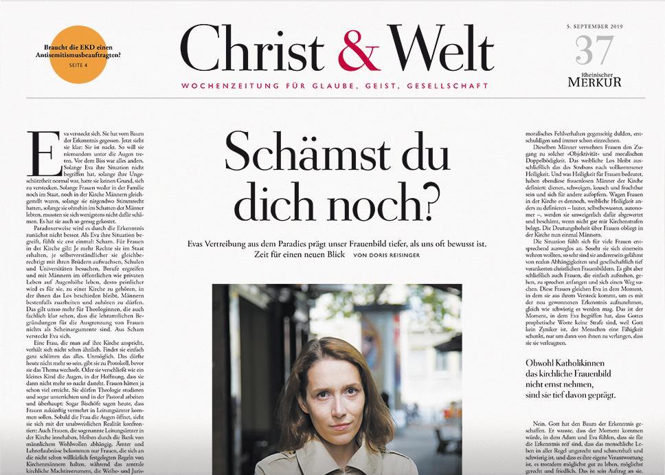 Christ&Welt 37/2019