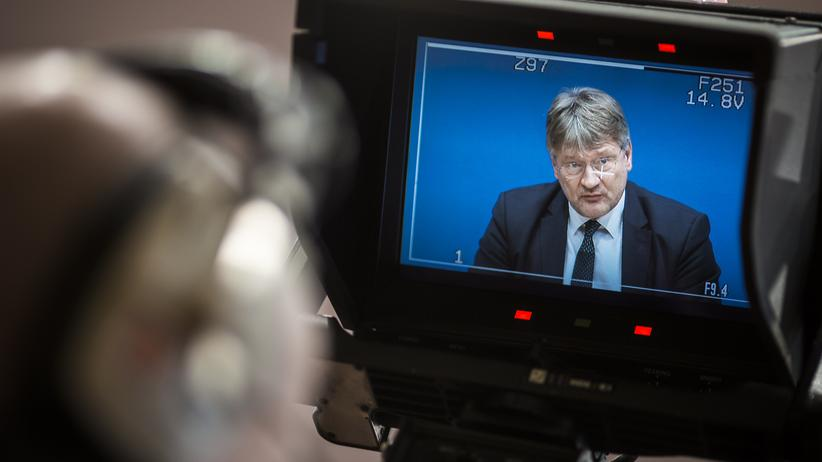 AfD: Jörg Meuthen, einer von zwei Bundessprechern der AfD