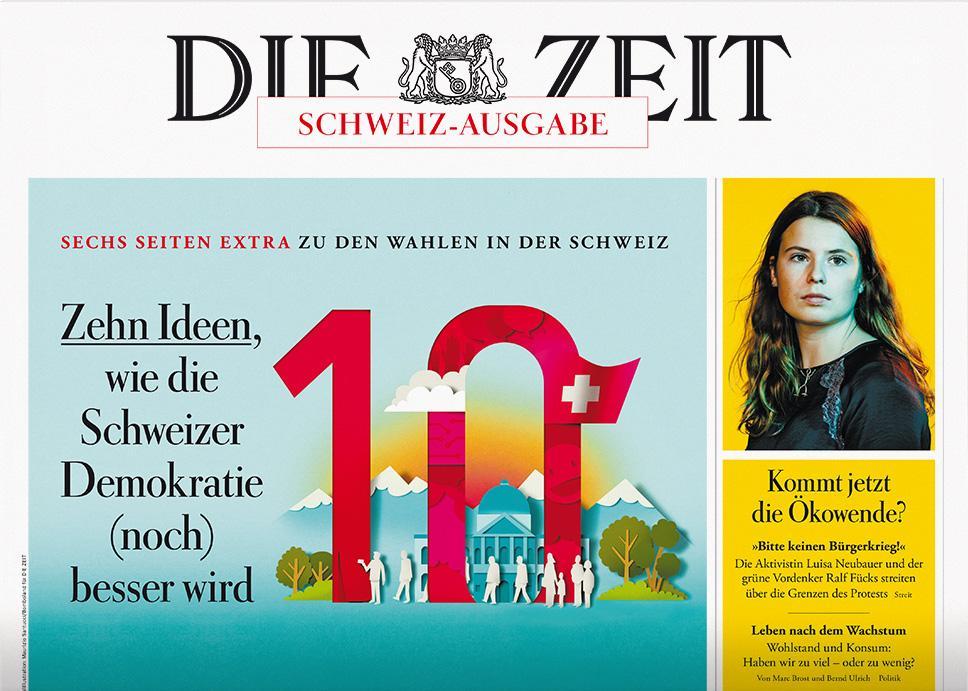 DIE ZEIT Schweiz 39/2019