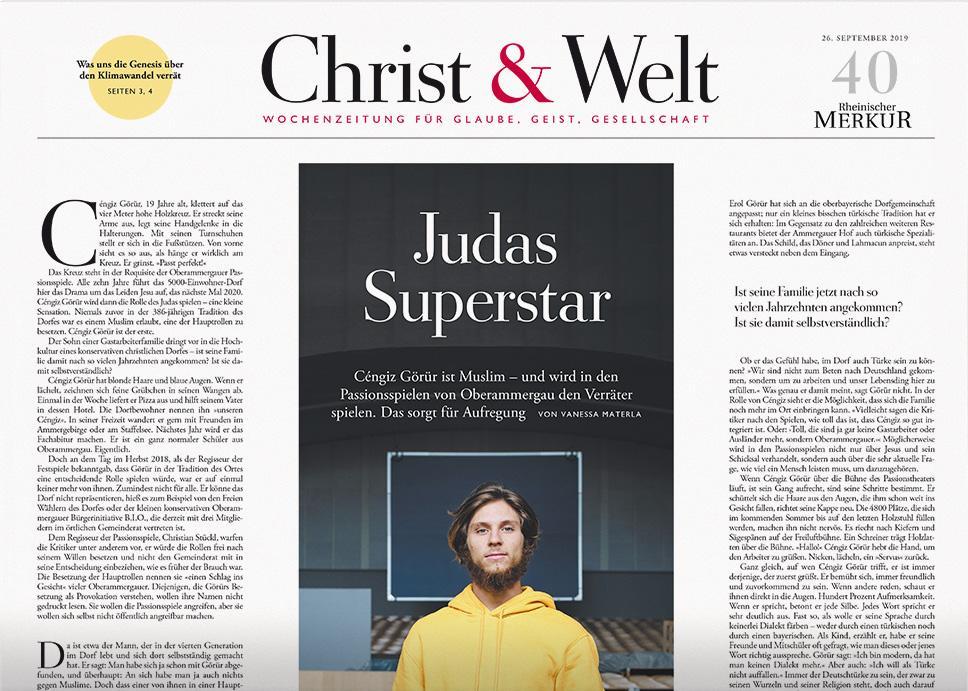 Christ&Welt 40/2019