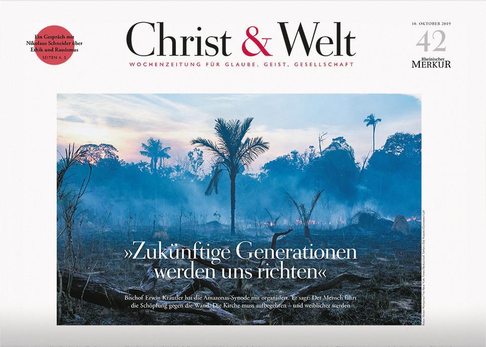 Christ&Welt 42/2019