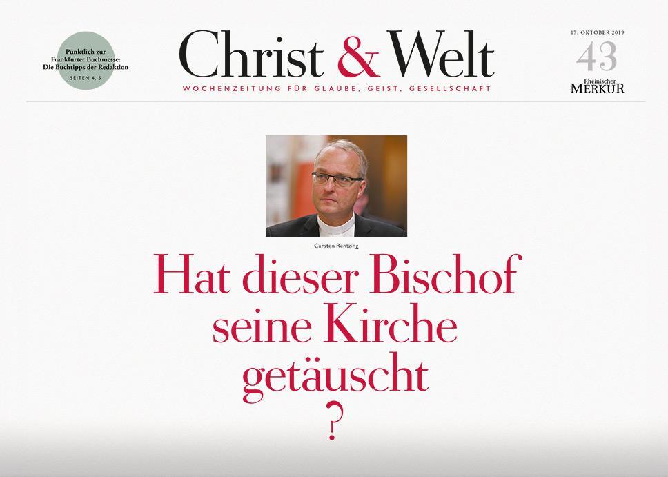 Christ&Welt 43/2019