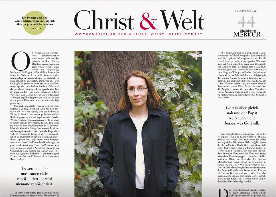 Christ&Welt 44/2019