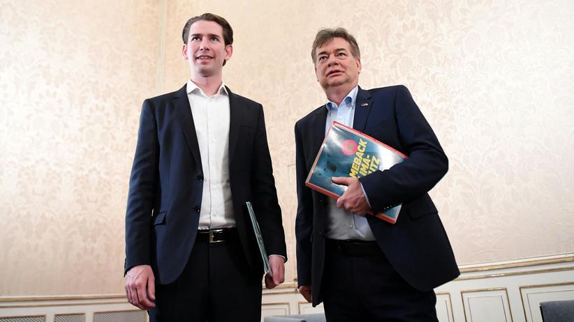 Sebastian Kurz und Werner Kogler: Könnte passen