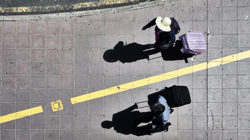 Rollkoffer: Asoziale Gepäckstücke