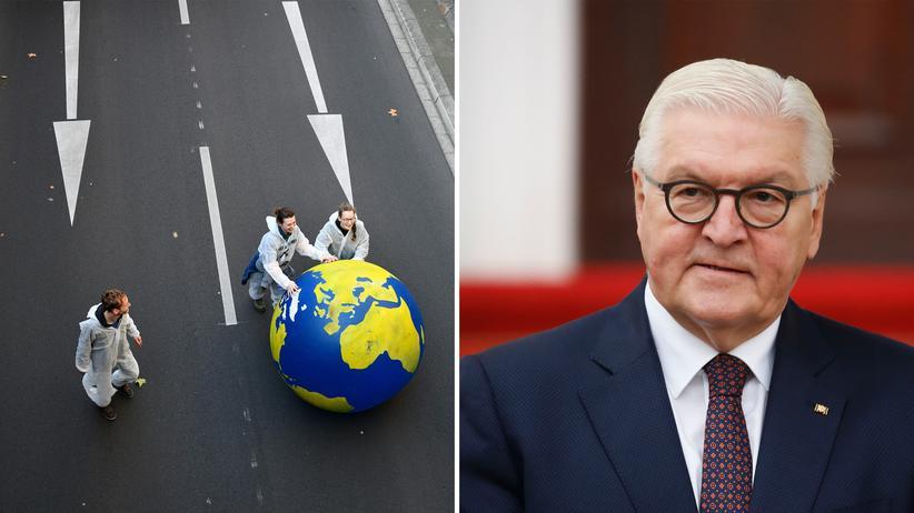 Frank-Walter Steinmeier : Murmelnde Macht