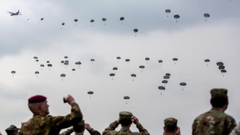 Nato: Trump im Ärmel