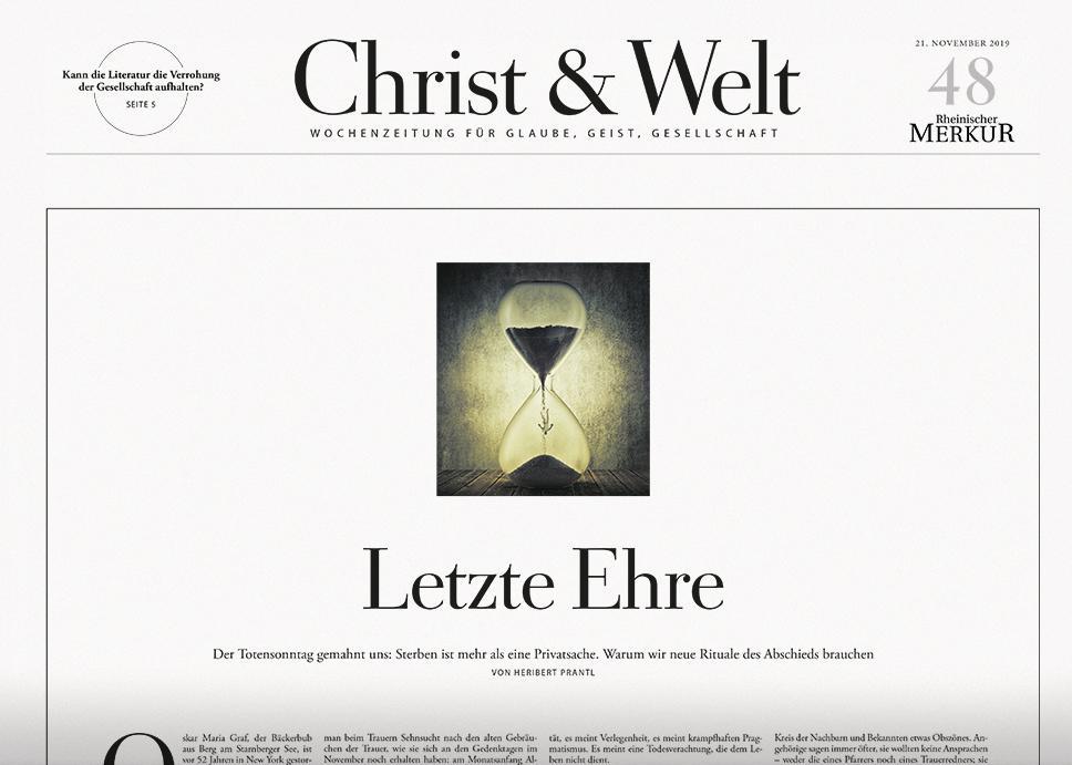 Christ&Welt 48/2019