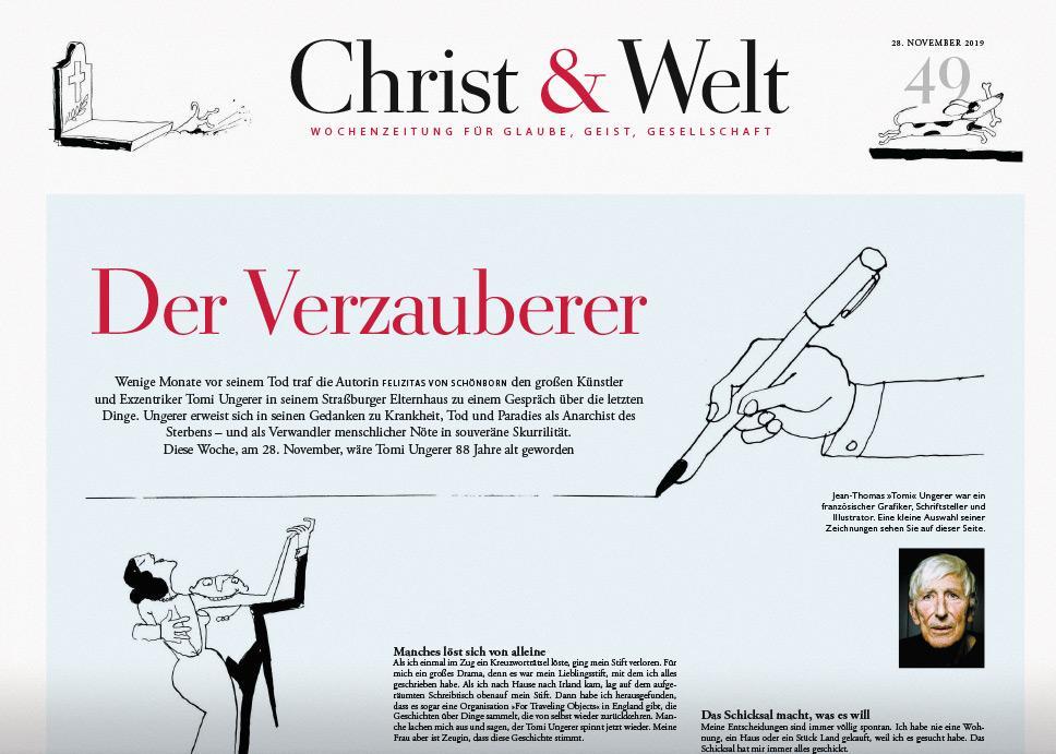 Christ&Welt 49/2019