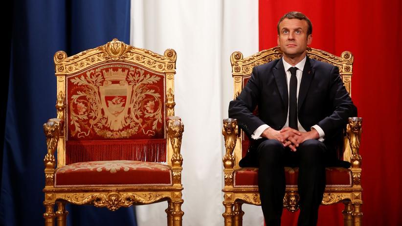Emmanuel Macron: Er spielt gerne solo