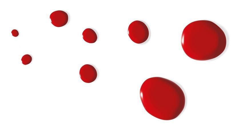 Blut: Fünfmal um den Äquator
