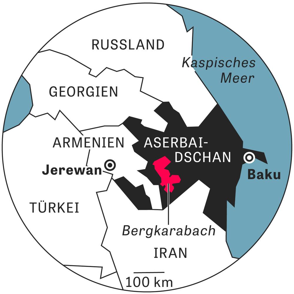 Bergkarabach Der Unsichtbare Krieg Zeit Online