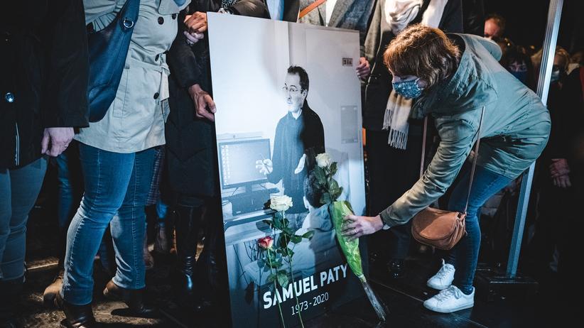 """Mord an Samuel Paty: """"Ermordet, weil er seinen Job gemacht hat"""""""