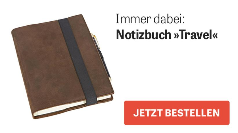 "Notizbuch ""Travel"""