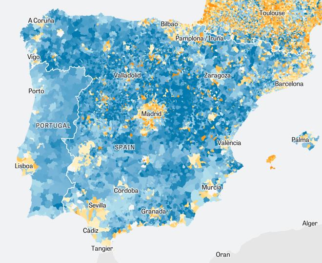 Demographics in Europe: The Commuter Belt Effect | ZEIT ONLINE