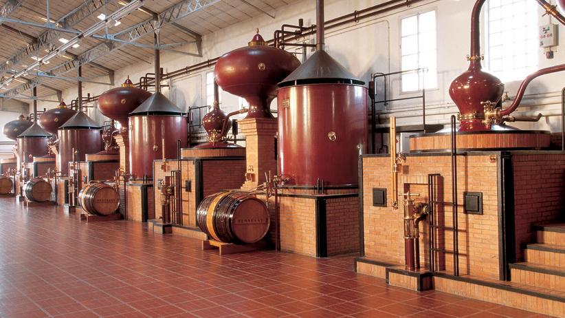 La Distillerie du Peu besteht seit dem 16. Jahrhundert