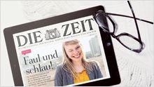 : Testen Sie 4x die digitale ZEIT