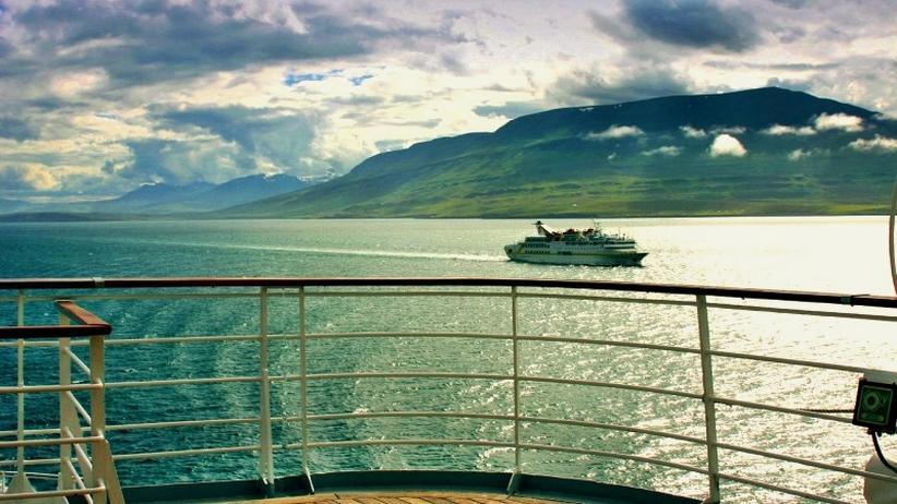 Urlaub auf dem Kreuzfahrtschiff