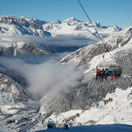 120 Pistenkilometer in der SkiArena Andermatt-Sedrun