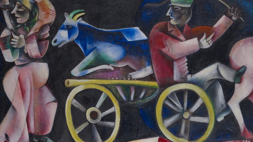 Aktuell in Basel: Chagall. Die Jahre des Durchbruchs 1911 – 1919