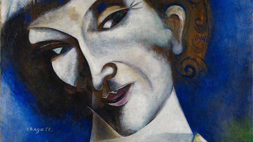 Ein Werk aus der aktuellen Chagall- Sonderausstellung im Kunstmuseum Basel