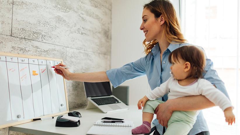Kind & Karriere : Alltag zwischen Baby, Bachelor und Beruf
