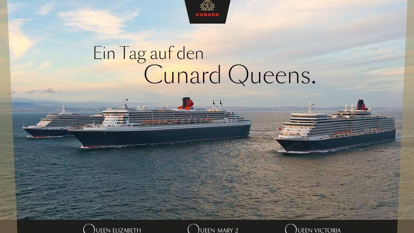 Cunard: Das große Cunard Gewinnspiel