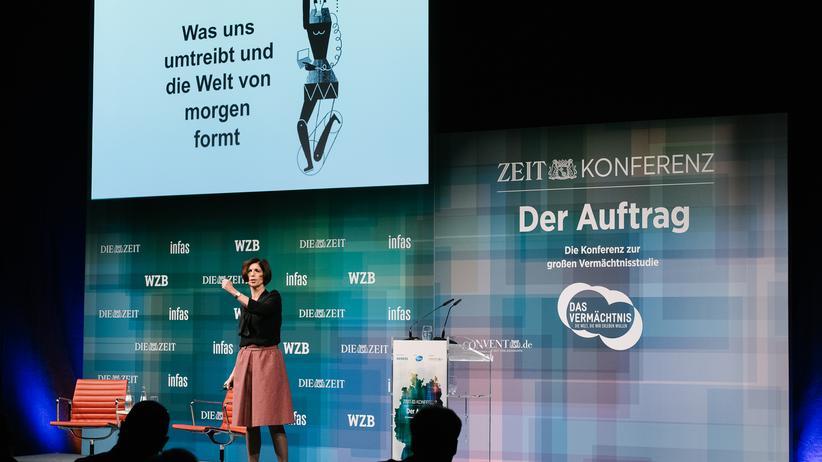 """ZEIT-KONFERENZEN """"DER AUFTRAG"""": Auf dem Sprung in die Zukunft"""