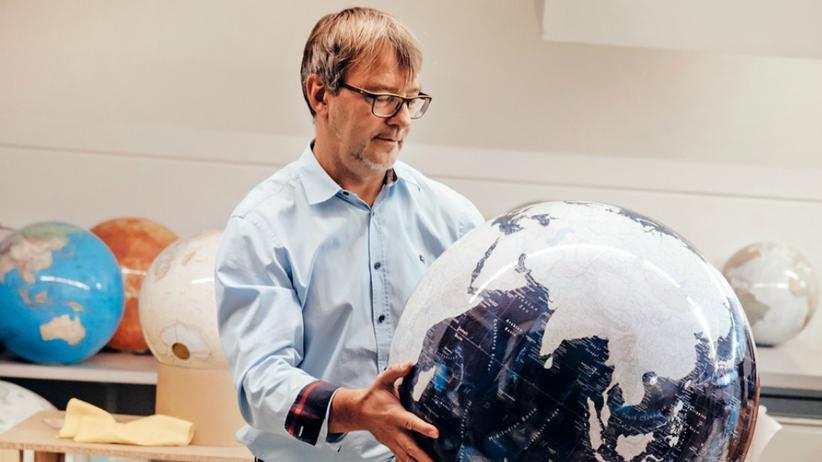 Torsten Oestergaard führt den Columbus Verlag in der vierten Generation. Seitdem er im Internet Anzeigen schaltet, wächst sein Geschäft.