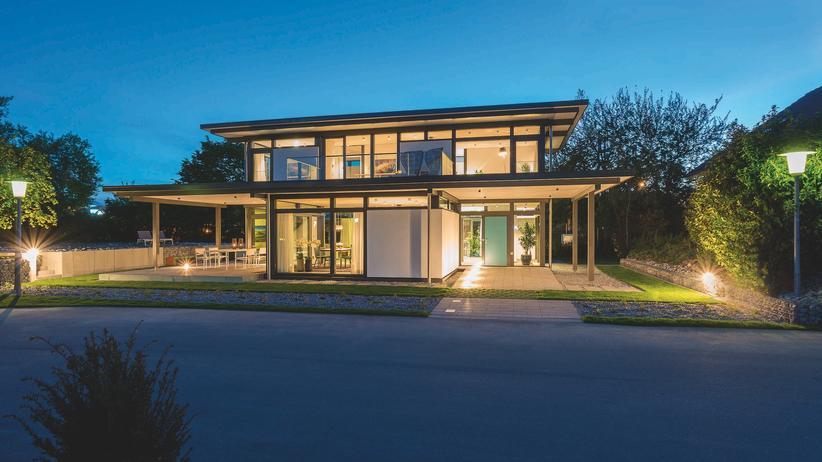 Grüne Aussichten – Wohntraum aus Holz und Glas