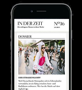 Alles im Blick mit der ZEIT iPhone-App für iOS im Abo