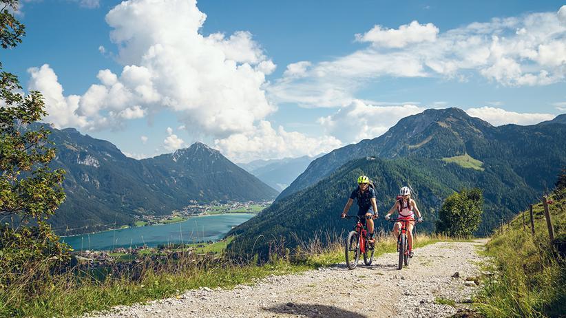 Biker & Kletterer willkommen – die besten Routen am Achensee