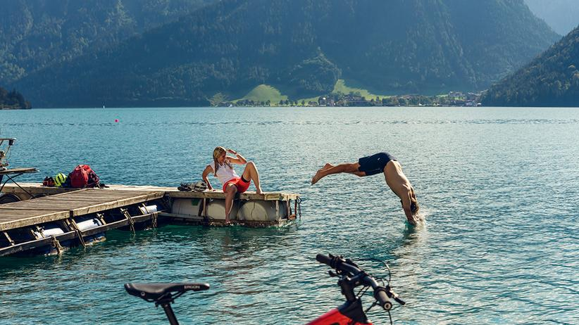 Wunderbare Wasserwelten am Achensee